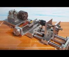 Home Made Cheap Mini Lathe Slide CNC