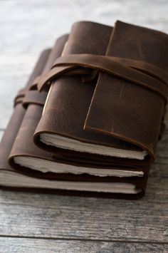 Handmade Rustic Brown Leather Journal