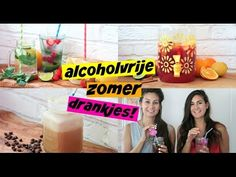 Alcoholvrije zomerdrankjes (via KittehsCupcakesNL