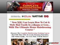 Nice Toni Hairdressing Courses® - 100s of Hairdressing Videos - Complete Hairdressing Training Professional Hairstyling