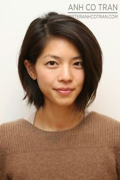 CUTE BOB & other hair TRANSFORMATIONS BY Anh Co Tran. link deleted, changed URL to latest website, lots of cute long bobs..