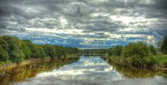 River Ribble, Preston, England. Color and Sky. Permission by James Dalrymple. This gets pinned just for being called the River Ribble. :)