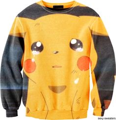 Sexy-Sweaters -- When Pikachu cries, I cry. Can not believe this is a sweater.