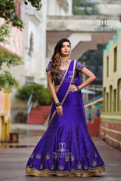 Teja Sarees, Lehenga Crop Top, 12 November, Lehenga Style, Lehenga Collection, Girls Dresses, Formal Dresses, Indian Outfits, Indian Clothes