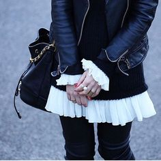 black&white nice streetfashion
