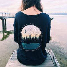 Gamma Phi Beta | Sunset Silhouette T-Shirt Design | South by Sea | Greek Tee Shirts | Greek Tank Tops | Custom Apparel Design | Custom Greek Apparel | Sorority Tee Shirts | Sorority Tanks | Sorority Shirt Designs