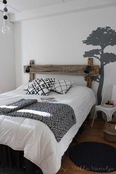 Stella Vanilja: DIY: uusi sängynpääty