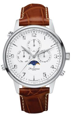 Fromanteel GT-0531-003 Globetrotter Moon Phase watch