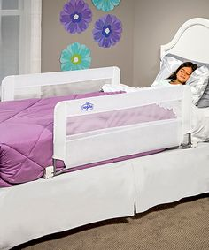 Loving this Regalo Double-Sided Swing-Down Bed Rail on #zulily! #zulilyfinds