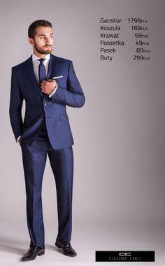 Stylizacja ślubna Giacomo Conti z garniturem MARCO2 E14/16B #giacomoconti