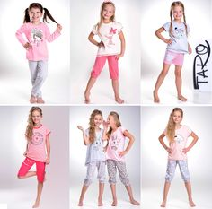 RELISH.COM.UA - интернет-магазин женской одежды для дома и сна: Детские пижамы для девочек ТМ TARO!