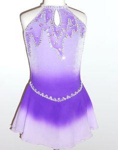 Beautiful ice skating dress