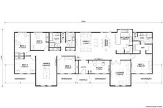 Country Builders, Queenslander House, House Blueprints, Humble Abode, House Plans, Floor Plans, House Design, How To Plan, House Ideas