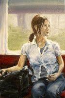 The next stop | 2009 Oil on canvas | 300 x 400 #RosKochArt