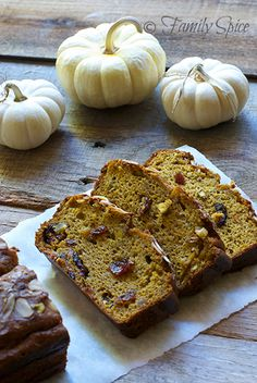"Pumpkin Bread for #SundaySupper Unprocessed and Gluten-Free ☞ Includes links to dozens of autumn recipes featuring the color ""orange"""