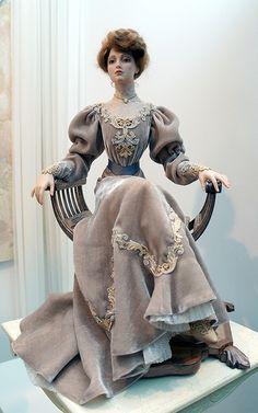 The Porcelain China Diane Dollhouse Dolls, Miniature Dolls, Pretty Dolls, Beautiful Dolls, Ooak Dolls, Barbie Dolls, Doll Costume, Costumes, Victorian Dolls
