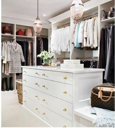 walk in closet...for my pinterest dream house...to fit my pinterest wardrobe in, of course