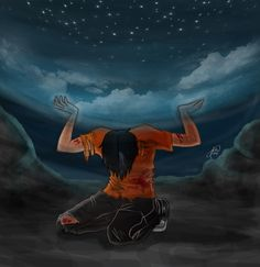 I love the third book, but how do you top the ending to book five? or HoO book three? I mean really. But still this is a great part. Atlas' Curse by jujubajulia.deviantart.com