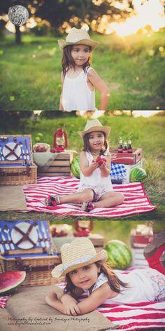 watermelon -- of July -- mini session ideas - children photography 4th Of July Photography, Photography Mini Sessions, Summer Photography, Children Photography, Photo Sessions, Photography Ideas, Photography Studios, Photography Marketing, Photography Backdrops
