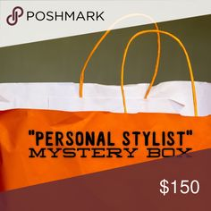1st EVER Personal Stylist Mystery Box! Know what you like but not how to style it? Have an event coming up & clueless what to wear? BUY ME! This mystery box is perfectly tailored to your taste/size & will include 5 pieces (tees, jeans, leggings, jewelry, makeup dresses, etc). All new, never worn. NOTE: THIS BOX WILL TAKE 3 DAYS TO COMPILE AFTER PURCHASE BUT WILL GO OUT ON THE 4th DAY. You'll briefly explain your style/sizes to me. I will create something amazing for you! I have a history in…