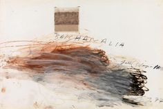 Bacchanalia-Fall (5 Days in November), 1977 Cy Twombly