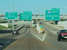 Shreveport  20/49 to Line Avenue.  Headed home.