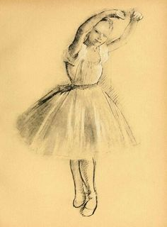 Edgard Degas. La pequeña bailarina.1875