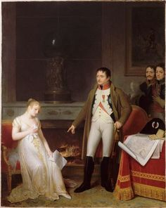 Marguerite Gérard, La Clémence de Napoléon Ier