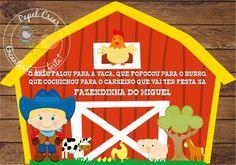 Convite Celeiro Fazendinha