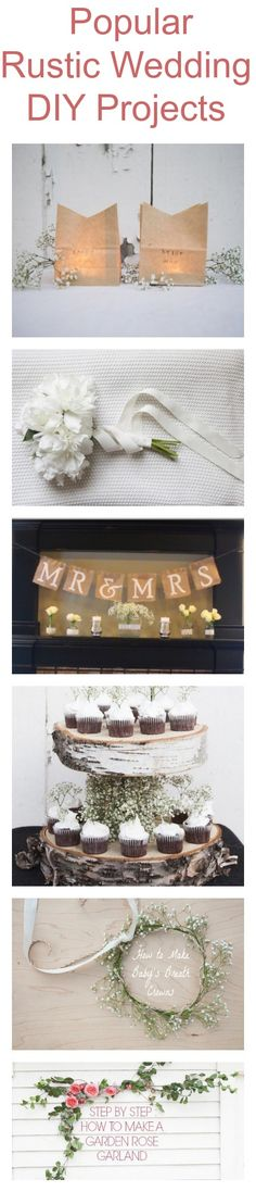 Popular Rustic Wedding Do It Yourself Projects