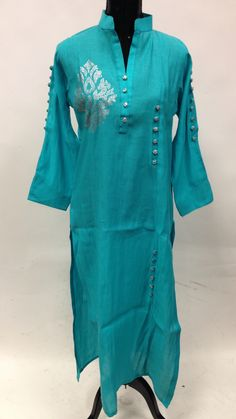 Cotton With Swaroski Work Kurta