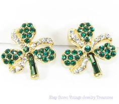 New Shamrock Earrings for St. Patrick's Day