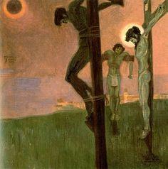 Egon Schiele - Crucifixion c1912