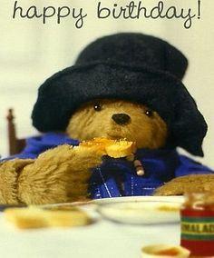 Paddington Bear - Happy Birthday Card (PD25) * No description (Barcode EAN = 5022344610450). http://www.comparestoreprices.co.uk/birthday-cards/paddington-bear--happy-birthday-card-pd25-.asp