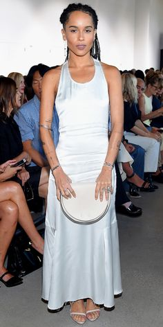 Zoe Kravitz in Calvin Klein Collection