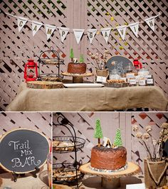 Adorable camp theme birthday party by Susanne Ashby