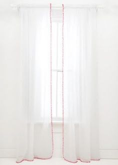 DIY: Pom Pom Curtains! | Prudent Baby