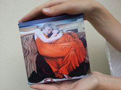 Giclee Print of original painting Flaming Elise by TaraSpicerArt, $70.00