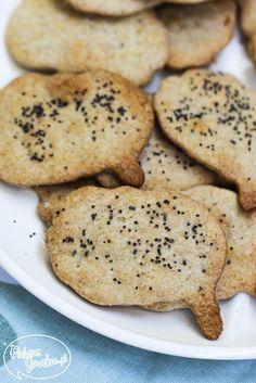 Paleta Smaku: Domowe krakersy