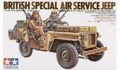 Tamiya - 35033 - Maquette militaire / military model kit- Jeep SAS   1/35