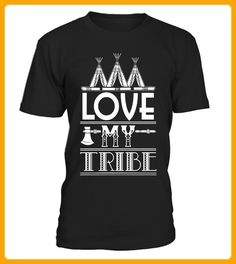 Love My Tribe Camping TShirt Limited Edition - Yoga shirts (*Partner-Link)