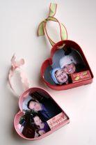 Cookie cutter w/ photo ornament