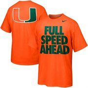 Nike Miami Hurricanes Basketball Campus Roar - Orange