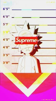 Hypebeast Quotes Wallpaper Supreme Rick Wallpaper In 2019 Pinterest Rick And