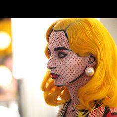 Interesting makeup