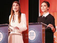 Королева Рания, Виктория Бекхэм и другие участники саммита Social Good
