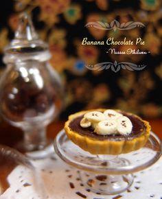 Banana Chocolate Pie by Nassae on DeviantArt
