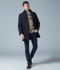 Habéis visto que precios? Este abrigo es súper elegante y  lo mejor su precio, recomendado 100% #moda #man #spf.com