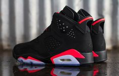 "Air Jordan 6 Retro ""Infrared"" (Releasing)"