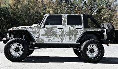 Digital Door-Vinyl Decal Set for Jeep Wrangler, Vehicles, Custom Graphics Jeep Wrangler Off Road, Jeep Tj, Jeep Wrangler Unlimited, Jeep Wranglers, Wrangler Tj, Camo Truck, Jeep Truck, Cherokee, Car Accessories For Guys